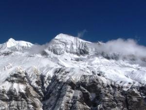 タルプチュリ峰(テントピーク)の全容