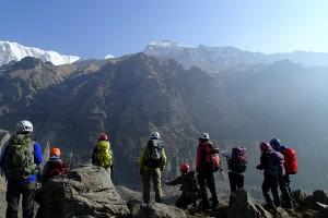 皆で、あのタルプチュリ峰を登るのだ!